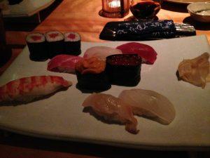 両親と妹を連れて寿司屋で日本食チャージしました。@RokuRoku グランドハイヤットトウキョウ