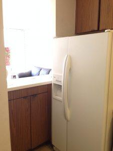 キッチンもオリジナルです。そう取替ですね。壁を壊してオープンにしたいです。