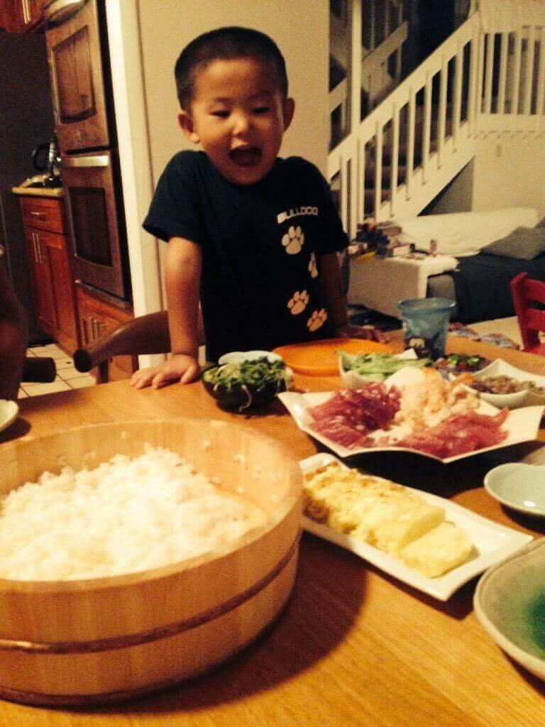 ハワイで大家:次男も4歳。ハワイに来たときは1歳でした。大きくなったなぁ