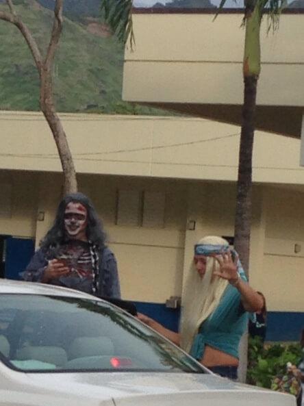 ハワイで大家:公立校の先生達です。