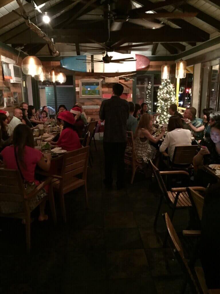 ハワイで大家:サチハワイクリスマスパーティ2014@Goofy Cafe