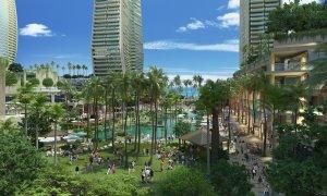 ハワイで大家:ワードビレッジ予想図