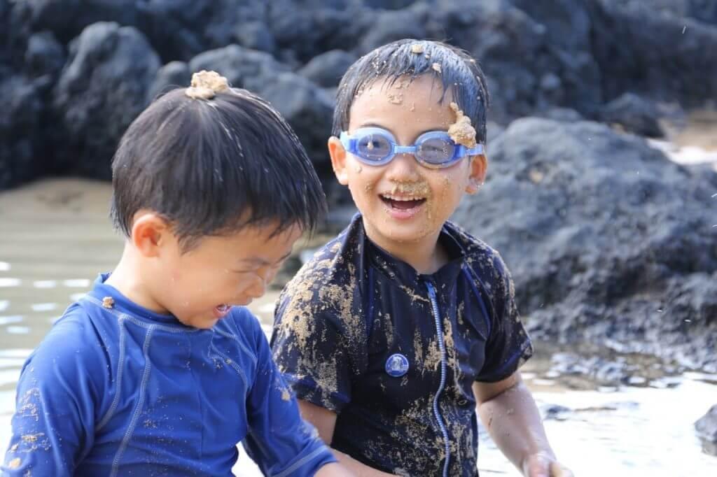 ハワイで大家:ビーチタイム2