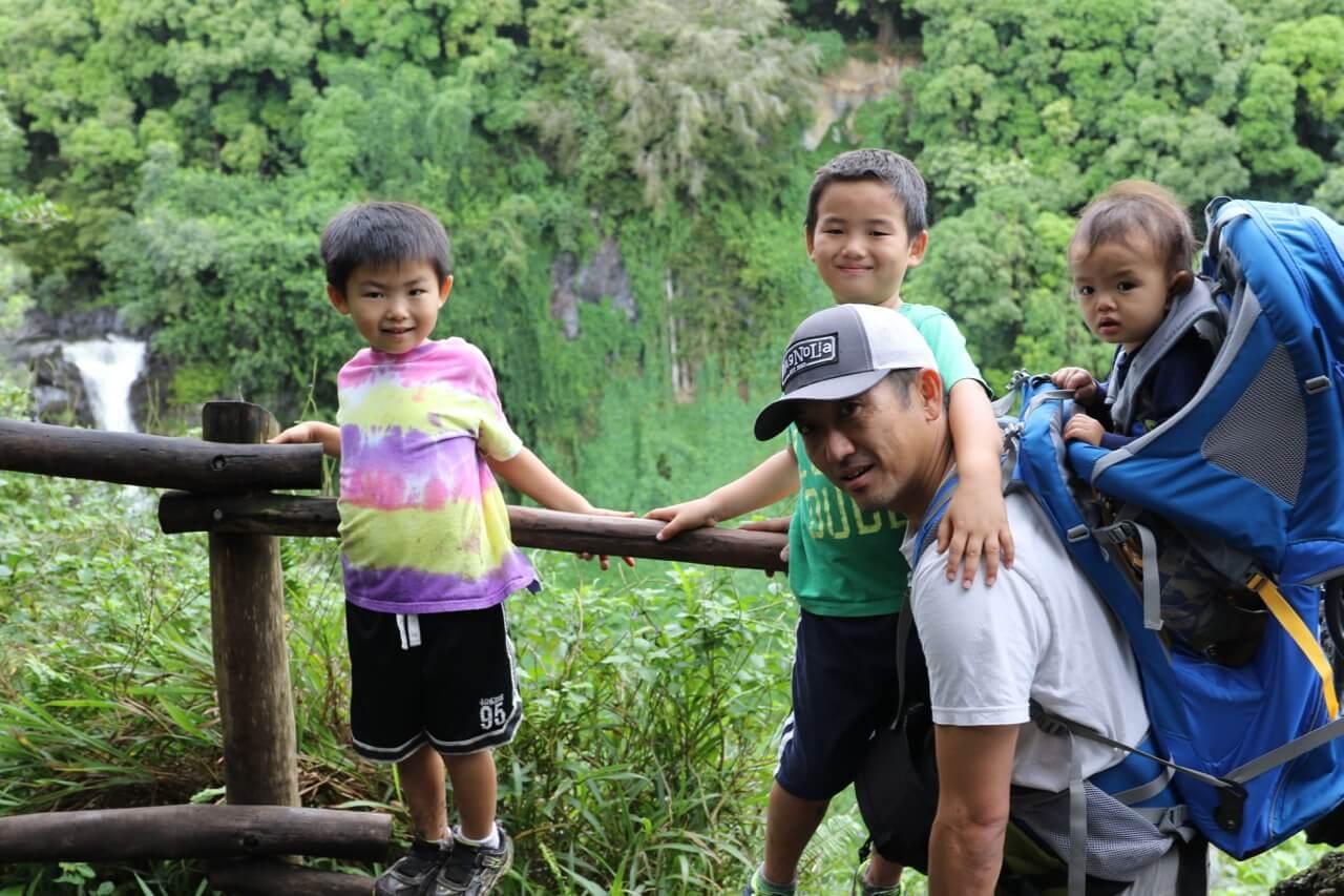 ハワイで大家:マウイ島の旅 ハイキング1