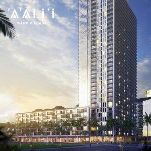 ハワイで大家:ハワード・ヒューズ新築コンド アアリイ外観