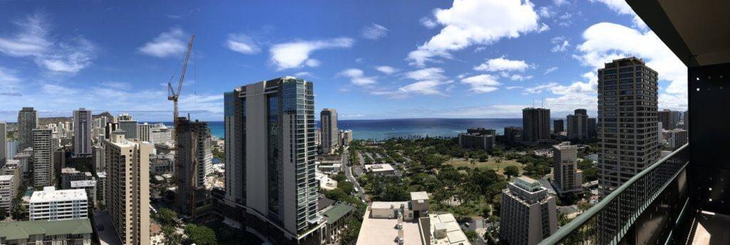 ハワイで大家:春に購入されたお客様がセカンドハウスご利用で来ハ