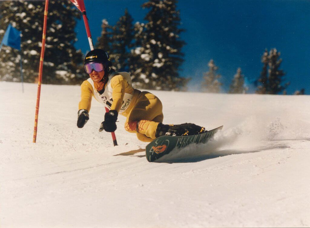 ハワイで大家:僕 Circa 1993@Steamboat CO USSA race