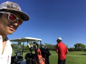 ハワイで大家:2018春休み 父と結局4回ゴルフ