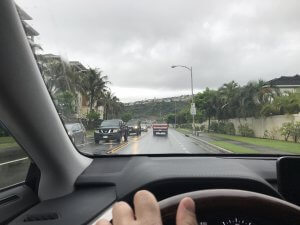 ハワイで大家:2018春休み終了 今週は雨ですね