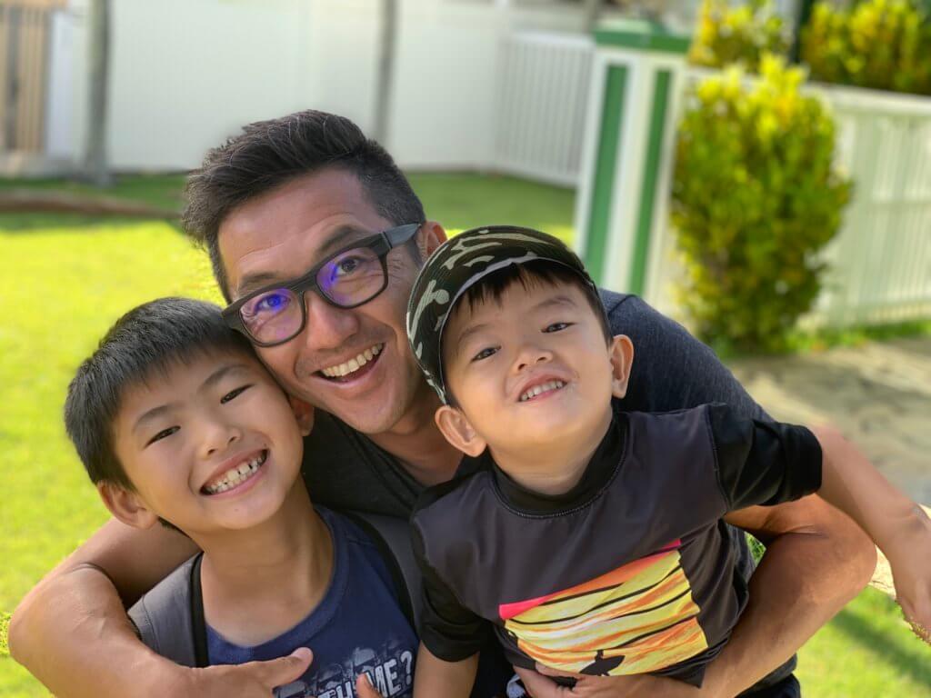 ハワイで大家:次男三男2019